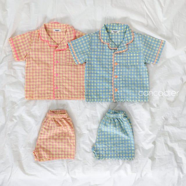CONCOCTER - BRAND - Korean Children Fashion - #Kfashion4kids - Honey Butter Pajamas