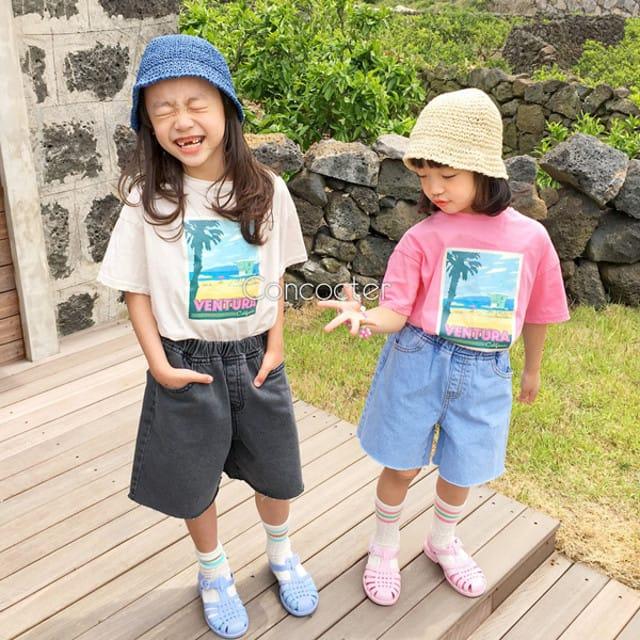CONCOCTER - BRAND - Korean Children Fashion - #Kfashion4kids - Ventura Vacance Tee