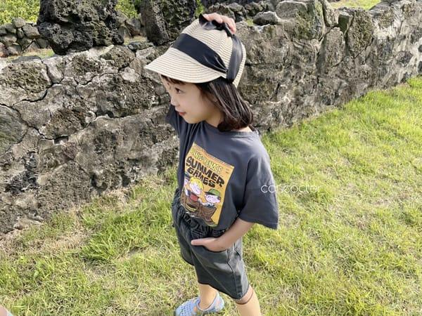 CONCOCTER - Korean Children Fashion - #Kfashion4kids - Summer Dennis Short Sleeveless - 2