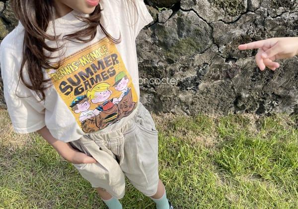 CONCOCTER - Korean Children Fashion - #Kfashion4kids - Summer Dennis Short Sleeveless - 4