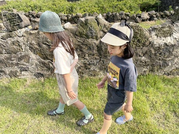 CONCOCTER - Korean Children Fashion - #Kfashion4kids - Summer Dennis Short Sleeveless - 5