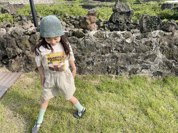 CONCOCTER - Korean Children Fashion - #Kfashion4kids - Summer Dennis Short Sleeveless - 7