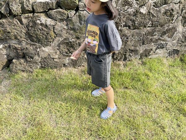 CONCOCTER - Korean Children Fashion - #Kfashion4kids - Summer Dennis Short Sleeveless - 8