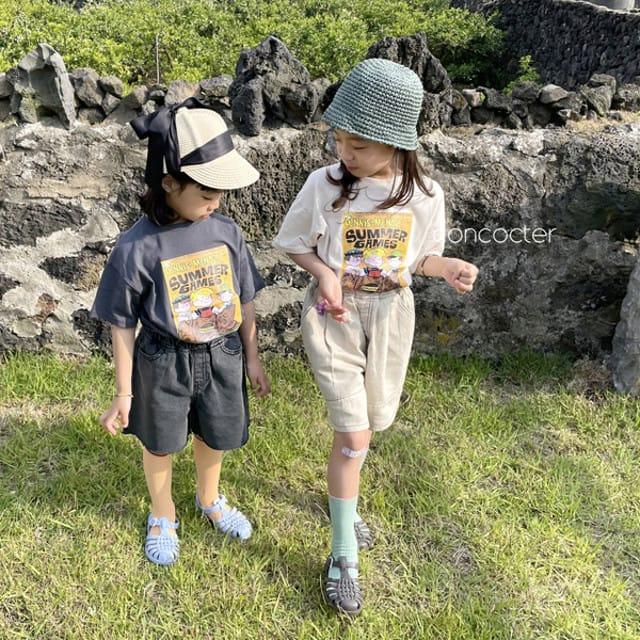 CONCOCTER - BRAND - Korean Children Fashion - #Kfashion4kids - Summer Dennis Short Sleeveless