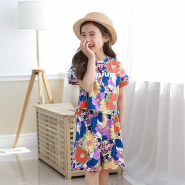 E.RU - BRAND - Korean Children Fashion - #Kfashion4kids - Bally Top Bottom Set