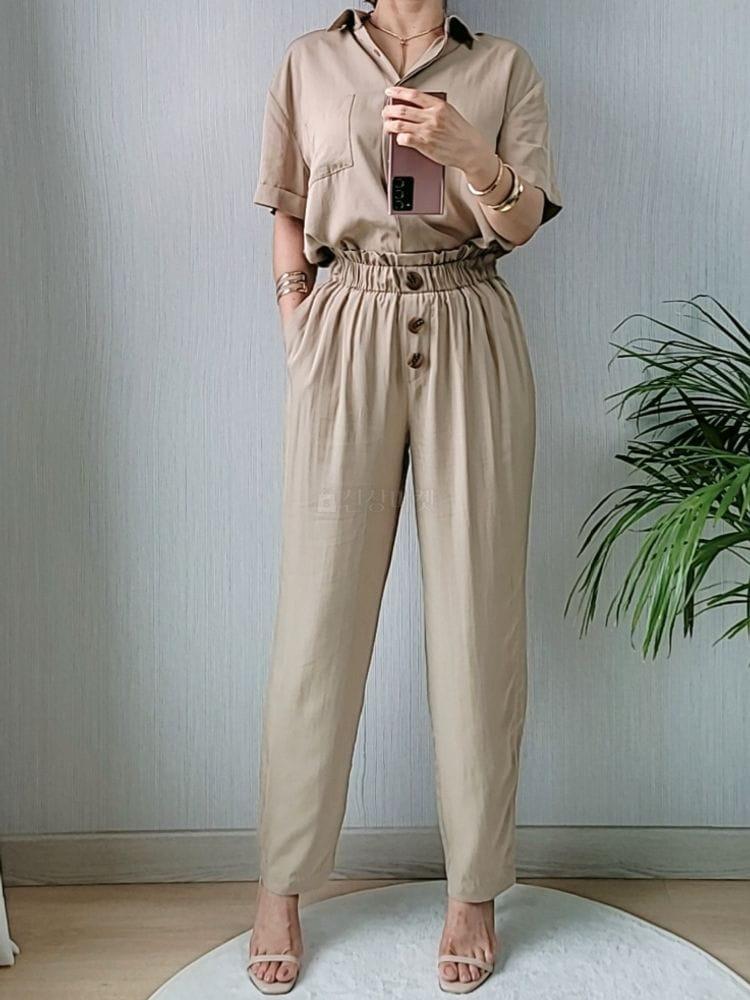 GRATIA - Korean Children Fashion - #Kfashion4kids - Slip Pants - 4