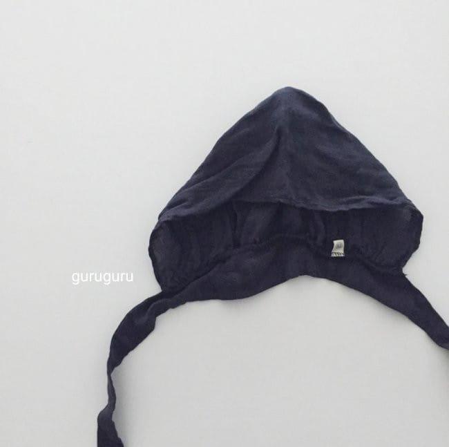 GURU GURU - Korean Children Fashion - #Kfashion4kids - Linen Bonnet - 6