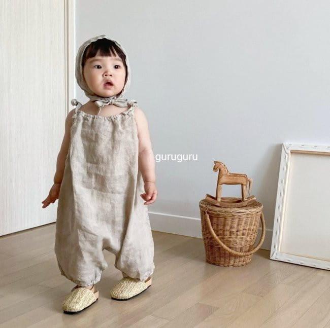GURU GURU - Korean Children Fashion - #Kfashion4kids - Linen Bonnet - 7