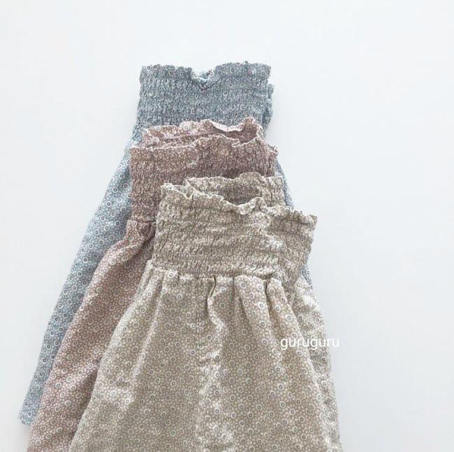 GURU GURU - Korean Children Fashion - #Kfashion4kids - Smocked Big Baggy Pants - 2