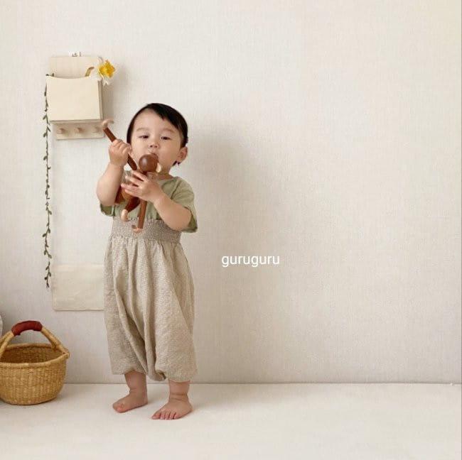 GURU GURU - Korean Children Fashion - #Kfashion4kids - Smocked Big Baggy Pants - 9