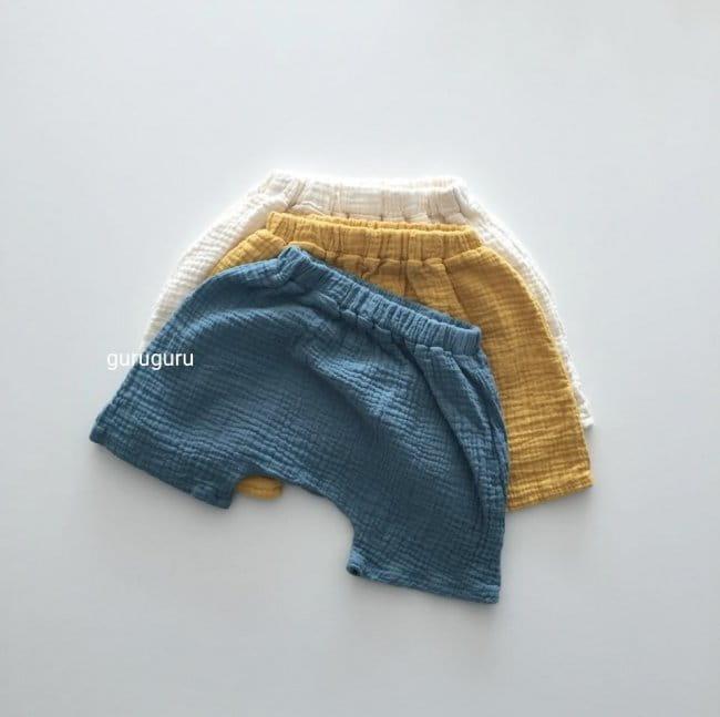 GURU GURU - Korean Children Fashion - #Kfashion4kids - Baby Baggy Shorts - 4