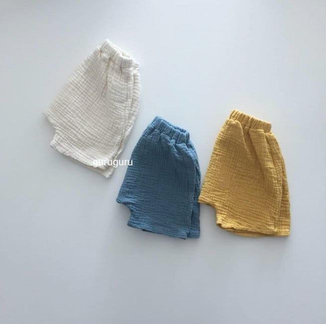 GURU GURU - Korean Children Fashion - #Kfashion4kids - Baby Baggy Shorts - 5