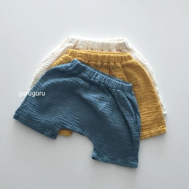 GURU GURU - BRAND - Korean Children Fashion - #Kfashion4kids - Baby Baggy Shorts
