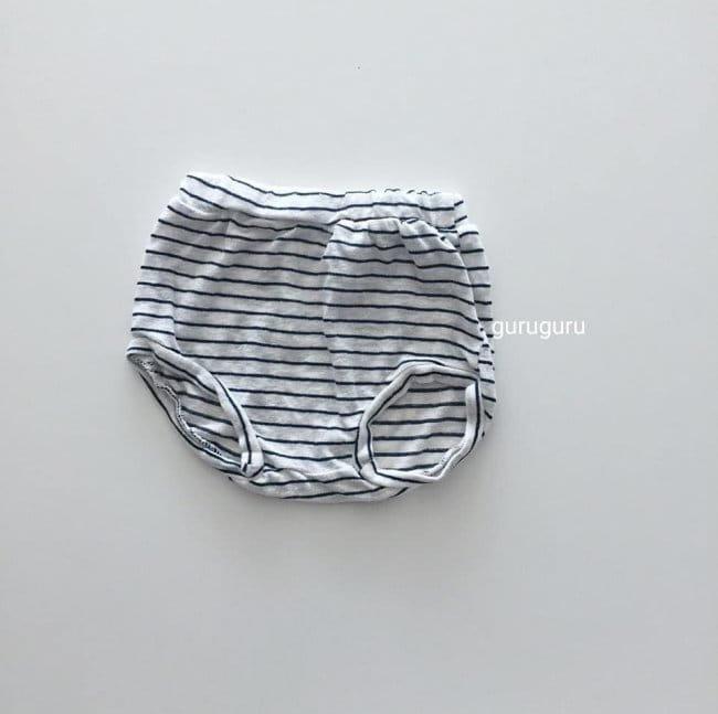 GURU GURU - Korean Children Fashion - #Kfashion4kids - Stripes Top Bottom Set - 8