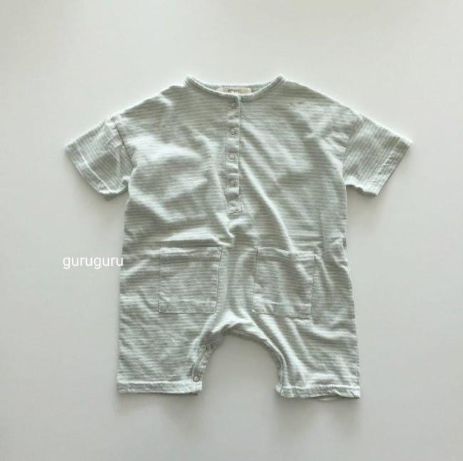 GURU GURU - Korean Children Fashion - #Kfashion4kids - Stripes Boxy Bodysuit - 5