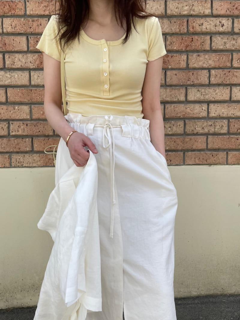 HUE - Korean Children Fashion - #Kfashion4kids - U Short Sleevels Tee - 2
