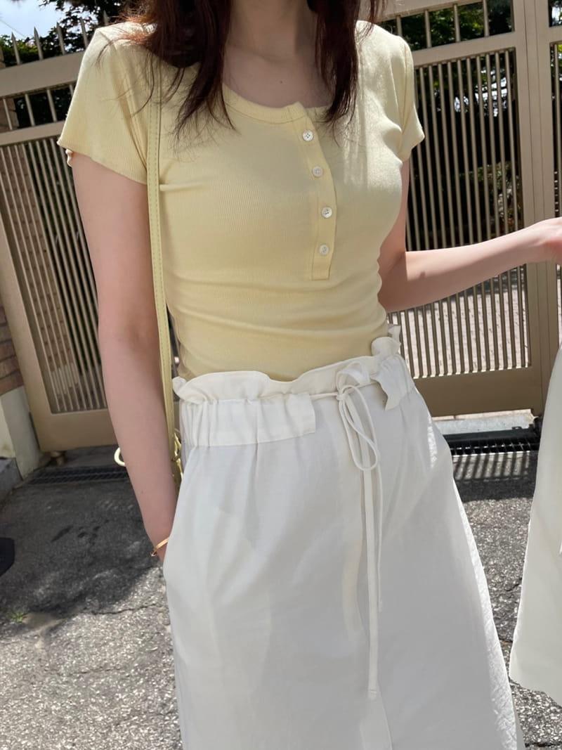 HUE - Korean Children Fashion - #Kfashion4kids - U Short Sleevels Tee - 5