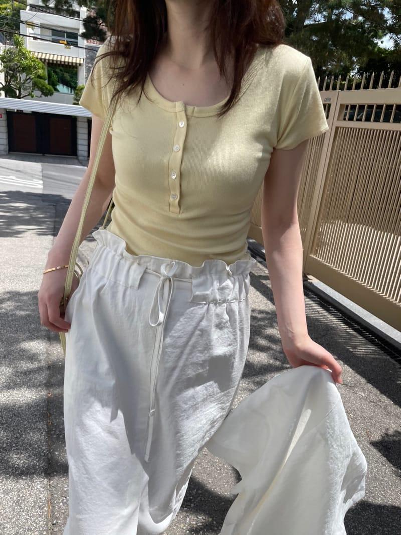 HUE - BRAND - Korean Children Fashion - #Kfashion4kids - U Short Sleevels Tee