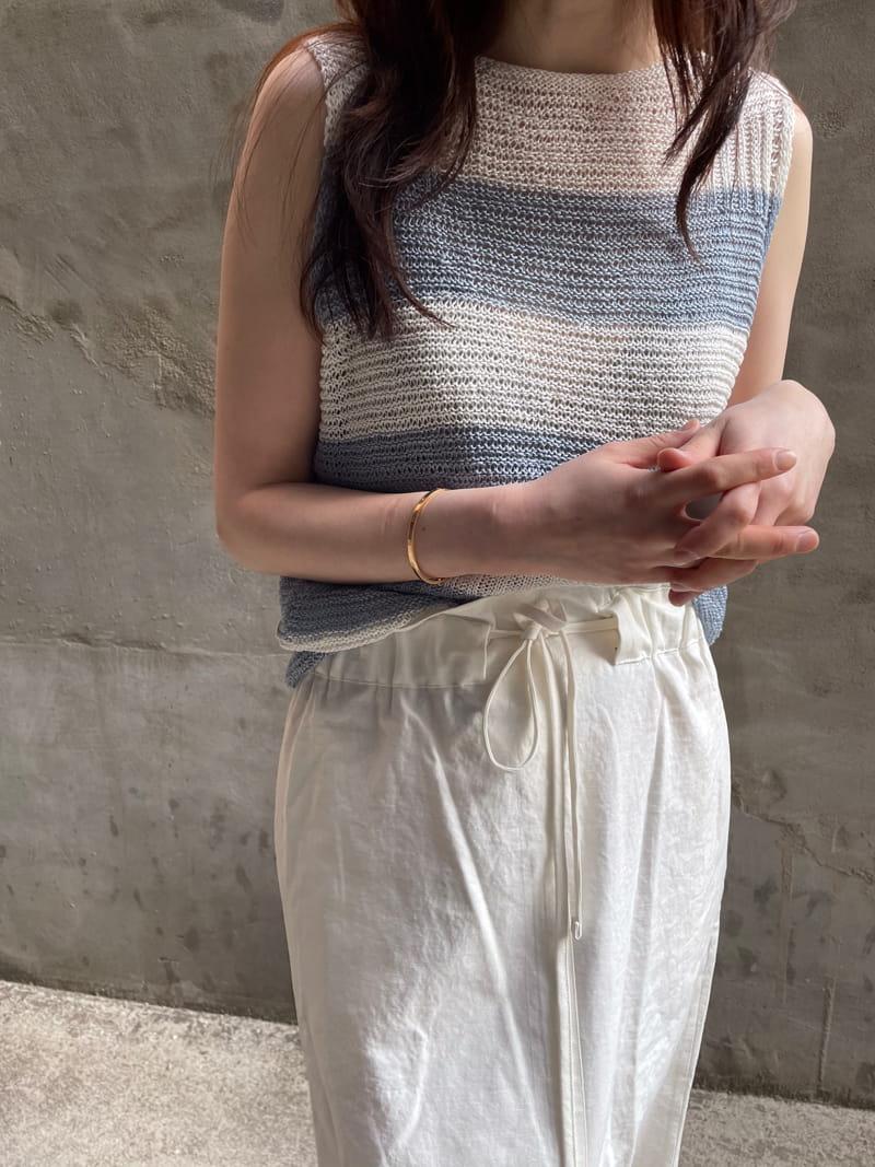 HUE - Korean Children Fashion - #Kfashion4kids - Angdo Stripes Sleeveless - 2