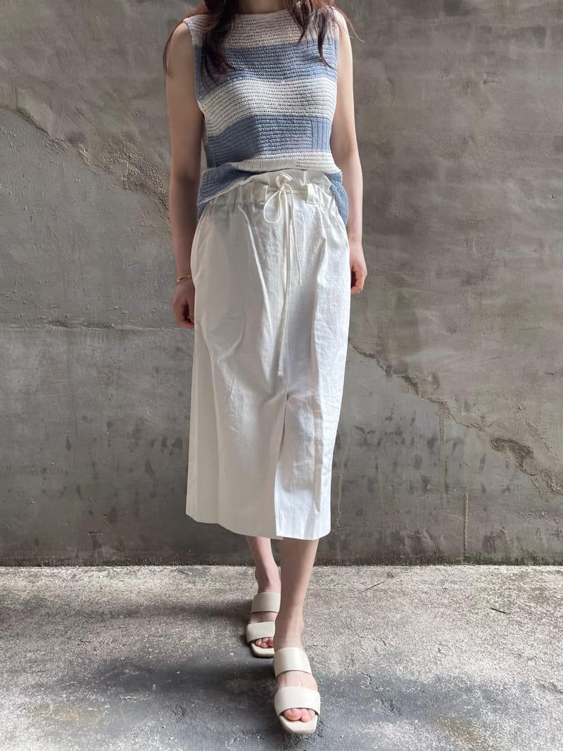 HUE - Korean Children Fashion - #Kfashion4kids - Angdo Stripes Sleeveless - 3