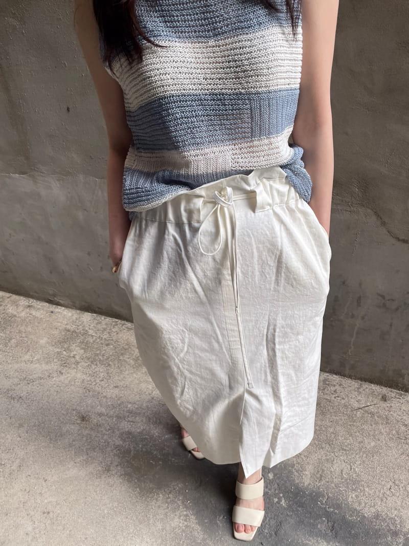 HUE - Korean Children Fashion - #Kfashion4kids - Angdo Stripes Sleeveless - 4