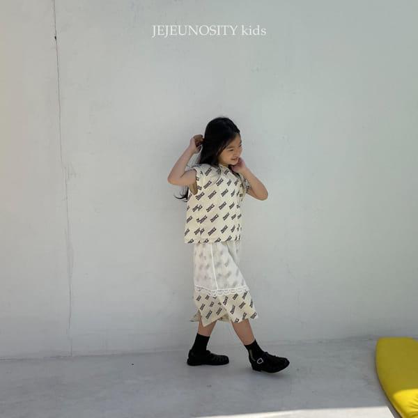 JEJEUNOSITY - Korean Children Fashion - #Kfashion4kids - Amor Party Sleeveless - 3