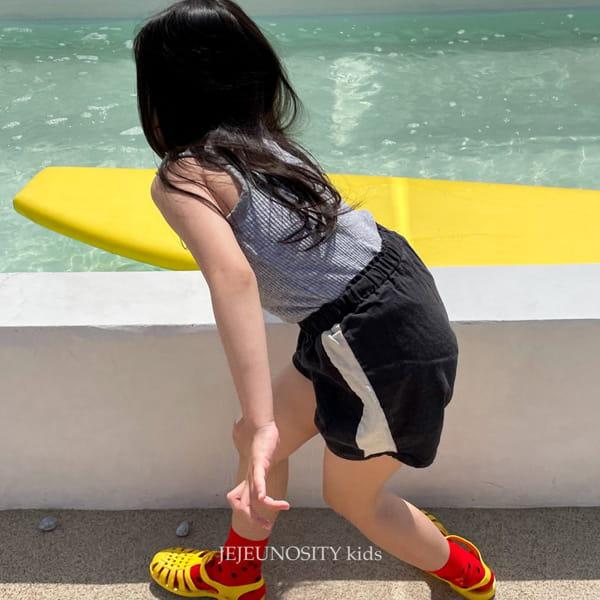 JEJEUNOSITY - Korean Children Fashion - #Kfashion4kids - Short Track Pants