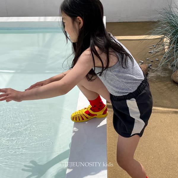 JEJEUNOSITY - Korean Children Fashion - #Kfashion4kids - Short Track Pants - 4