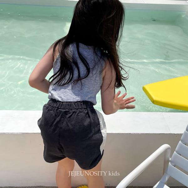 JEJEUNOSITY - Korean Children Fashion - #Kfashion4kids - Short Track Pants - 6