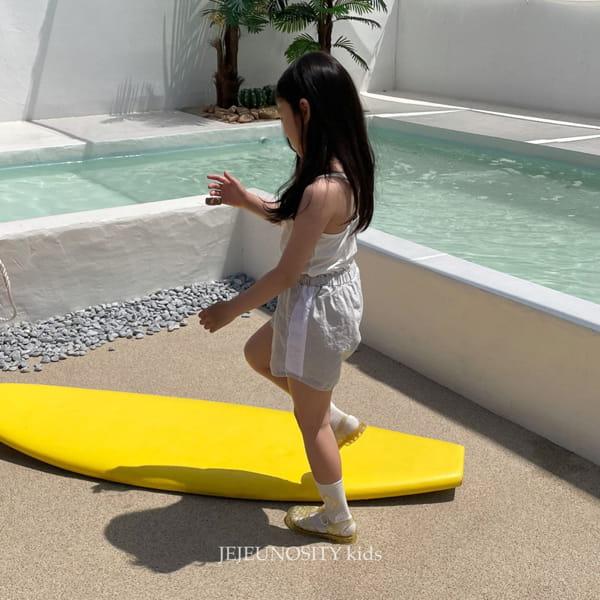 JEJEUNOSITY - Korean Children Fashion - #Kfashion4kids - Short Track Pants - 8
