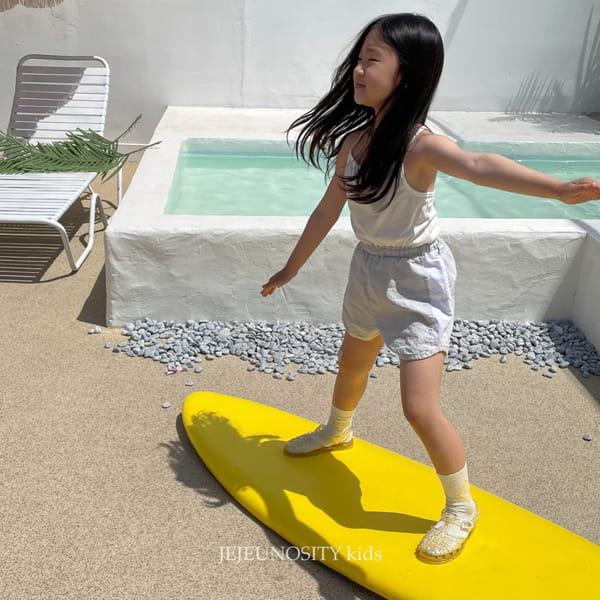 JEJEUNOSITY - Korean Children Fashion - #Kfashion4kids - Short Track Pants - 9