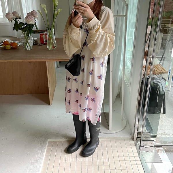 JEJEUNOSITY - Korean Children Fashion - #Kfashion4kids - Mom Cassettes Pants - 6