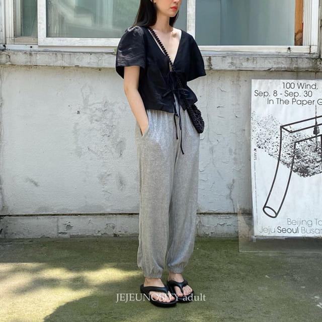 JEJEUNOSITY - BRAND - Korean Children Fashion - #Kfashion4kids - Mom Cassettes Pants