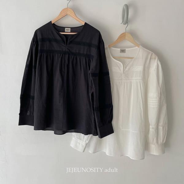 JEJEUNOSITY - Korean Children Fashion - #Kfashion4kids - Mom Burumable Blouse - 11