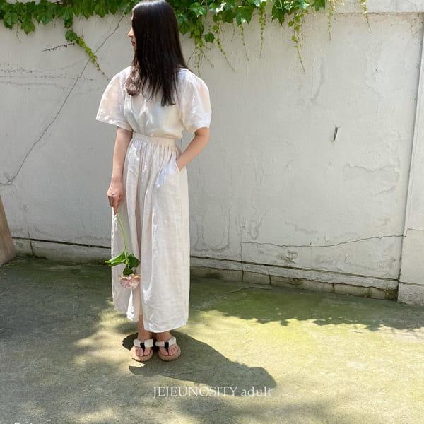 JEJEUNOSITY - Korean Children Fashion - #Kfashion4kids - Mom Bally Top Bottom Set