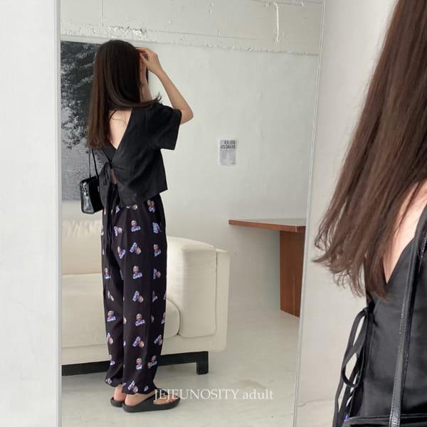 JEJEUNOSITY - Korean Children Fashion - #Kfashion4kids - Mom Granny Pants - 6