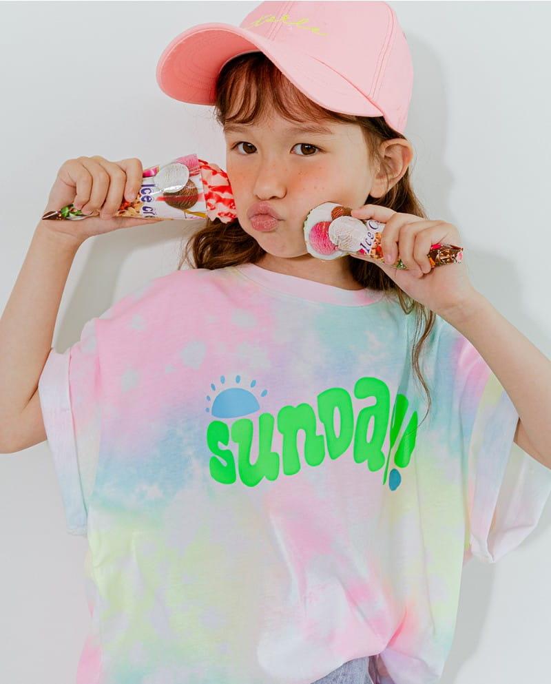 LILAS - Korean Children Fashion - #Kfashion4kids - Sunday Water Paint Tee