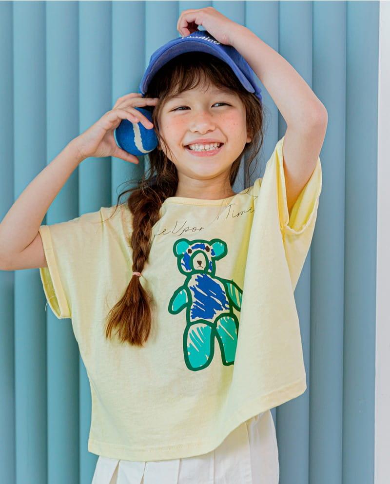 LILAS - Korean Children Fashion - #Kfashion4kids - Once Bear Tee