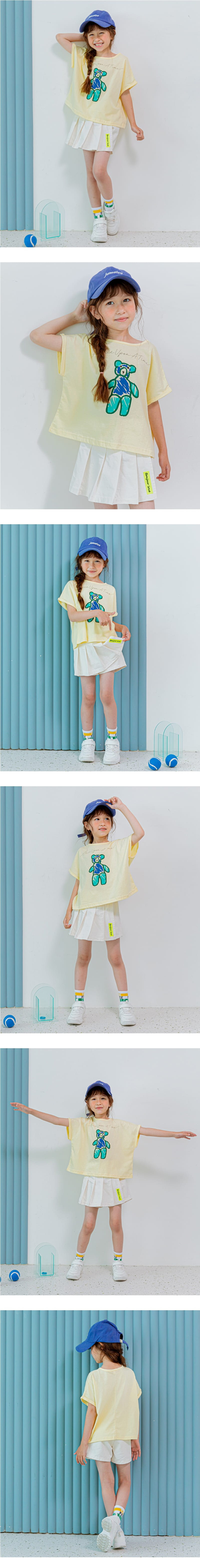 LILAS - Korean Children Fashion - #Kfashion4kids - Once Bear Tee - 2