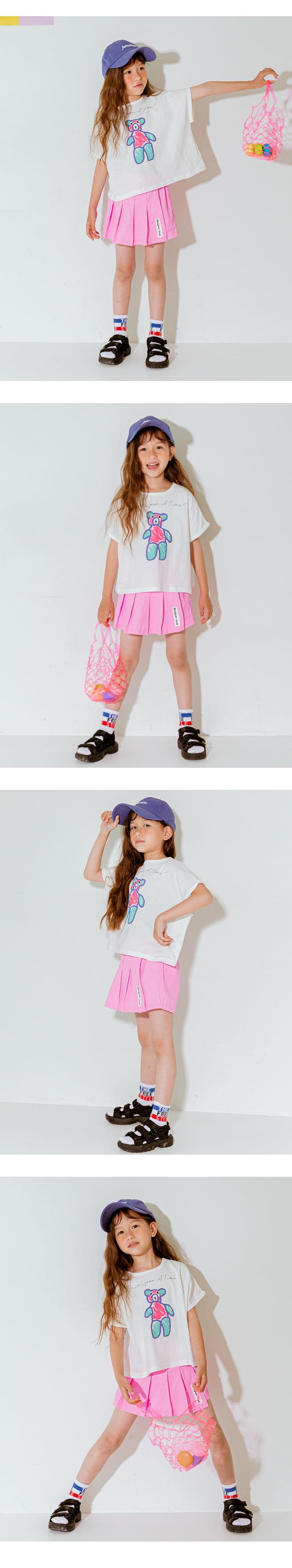 LILAS - Korean Children Fashion - #Kfashion4kids - Once Bear Tee - 4