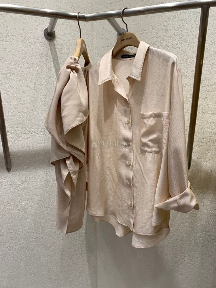 MARIE STUDIOS - Korean Children Fashion - #Kfashion4kids - Shoulder Frill Blouse - 3