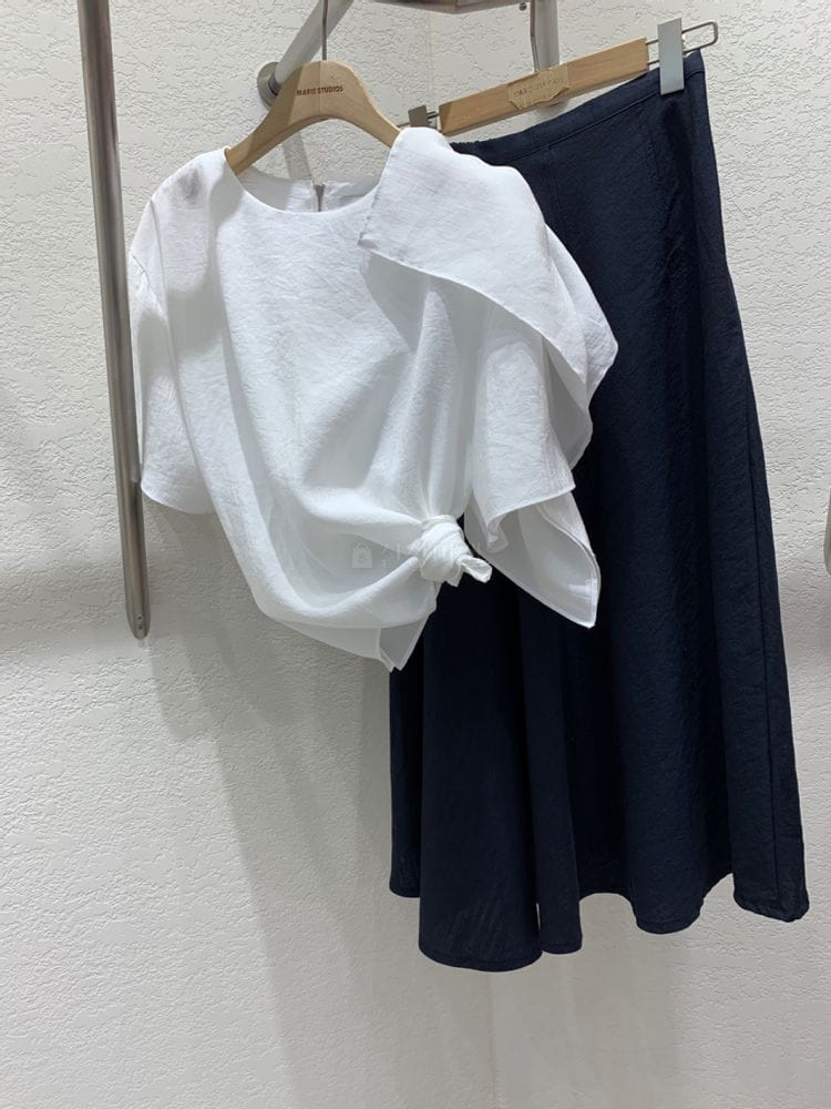 MARIE STUDIOS - Korean Children Fashion - #Kfashion4kids - Linen Long Skirt - 3