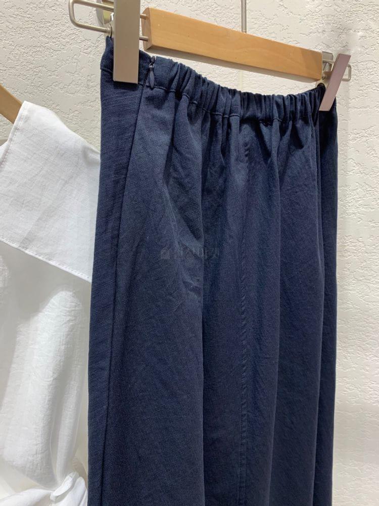 MARIE STUDIOS - Korean Children Fashion - #Kfashion4kids - Linen Long Skirt - 6