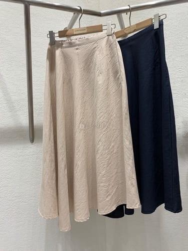 MARIE STUDIOS - BRAND - Korean Children Fashion - #Kfashion4kids - Linen Long Skirt