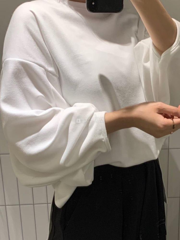MARIE STUDIOS - Korean Children Fashion - #Kfashion4kids - Volun Sleeves Tee