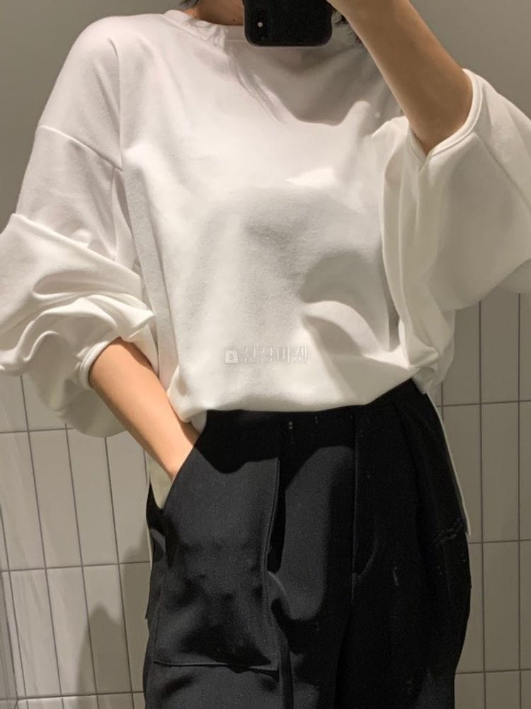 MARIE STUDIOS - BRAND - Korean Children Fashion - #Kfashion4kids - Volun Sleeves Tee