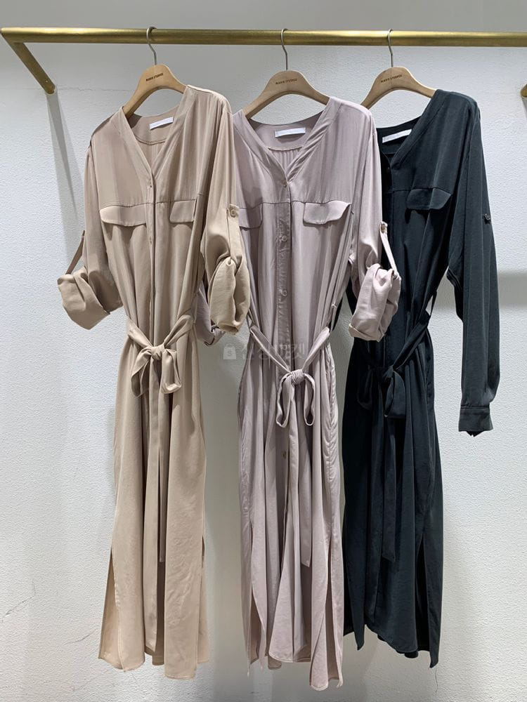 MARIE STUDIOS - Korean Children Fashion - #Kfashion4kids - Robe cardigan One-piece - 4