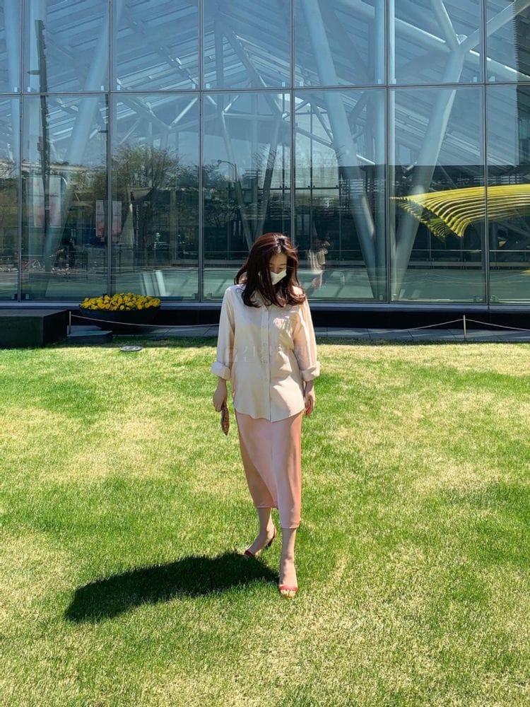 MARIE STUDIOS - Korean Children Fashion - #Kfashion4kids - Glossy Skirt