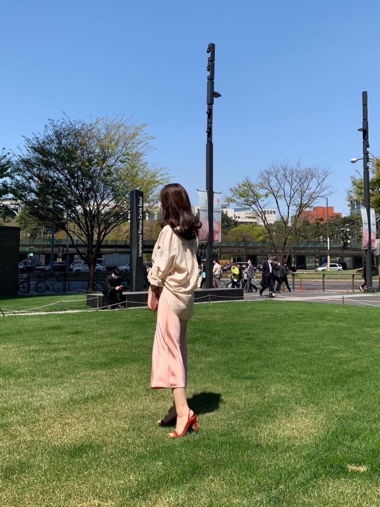 MARIE STUDIOS - Korean Children Fashion - #Kfashion4kids - Glossy Skirt - 3