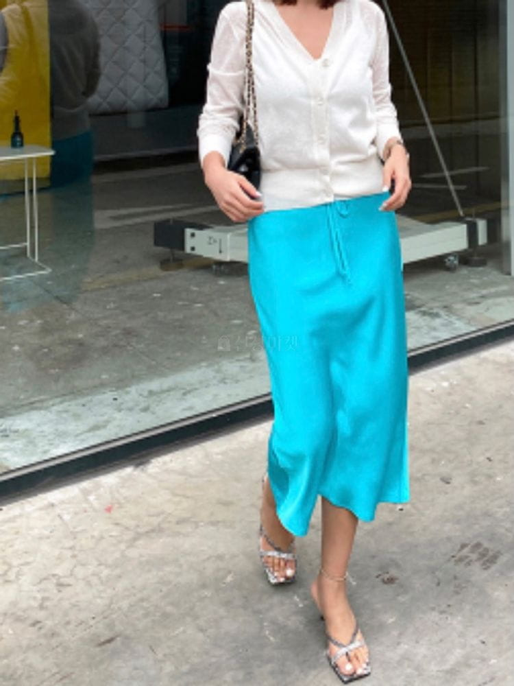 MARIE STUDIOS - Korean Children Fashion - #Kfashion4kids - Glossy Skirt - 5